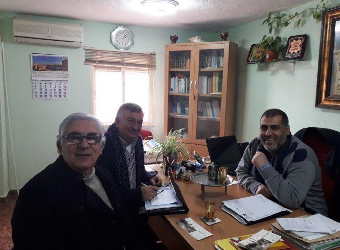 لقاء مع رئيس اتحاد المفوضية الإسلامية في إكستريمادورا بإسبانيا